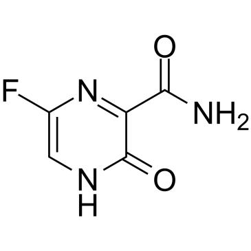 favipiravir molekül yapısı